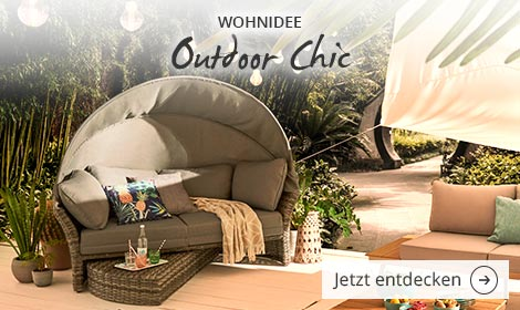 Wohnidee Outdoor Chic