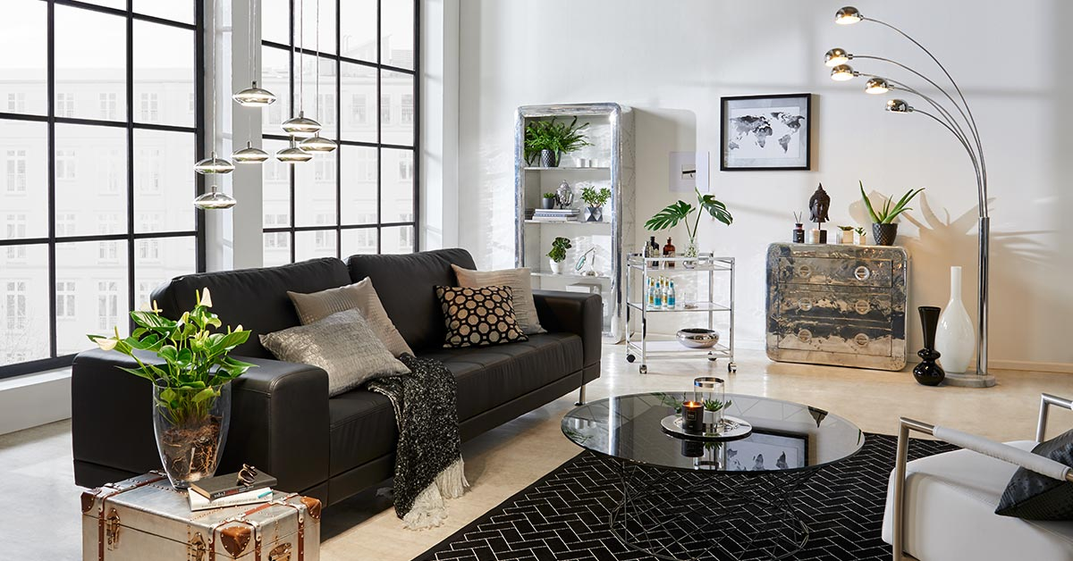 wohnidee city chic m bel h ffner. Black Bedroom Furniture Sets. Home Design Ideas