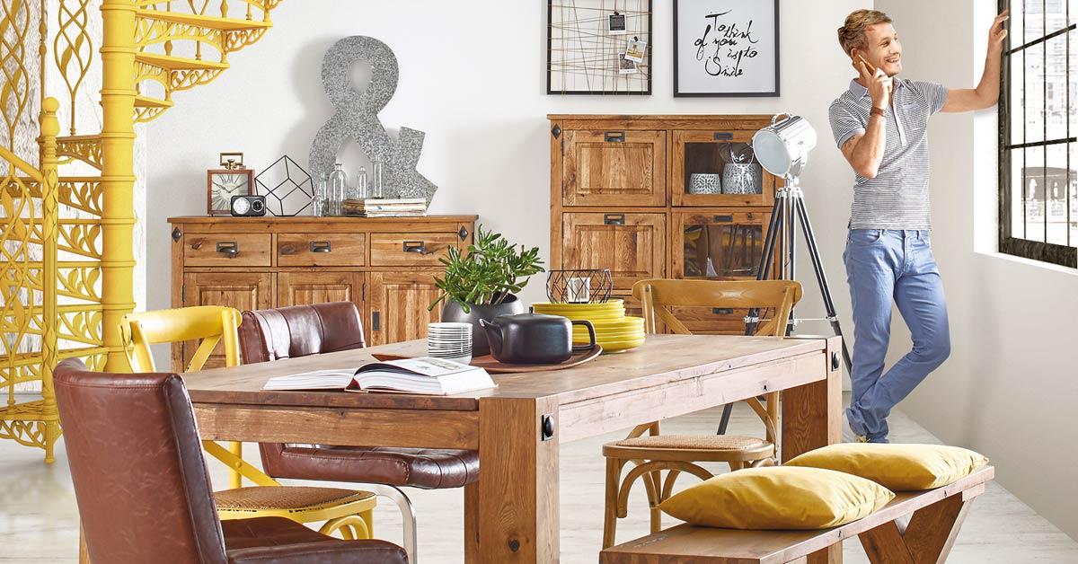 wohnidee esszimmer m bel h ffner. Black Bedroom Furniture Sets. Home Design Ideas