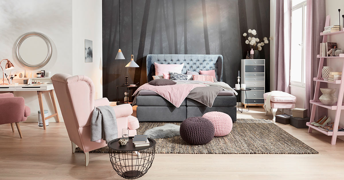 wohnidee romantik trifft moderne m bel h ffner. Black Bedroom Furniture Sets. Home Design Ideas