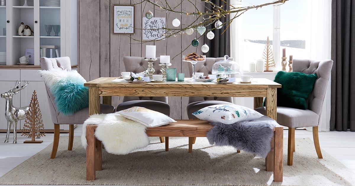 wohnideen farbe dekor, wohnidee - winter lights | möbel höffner, Design ideen
