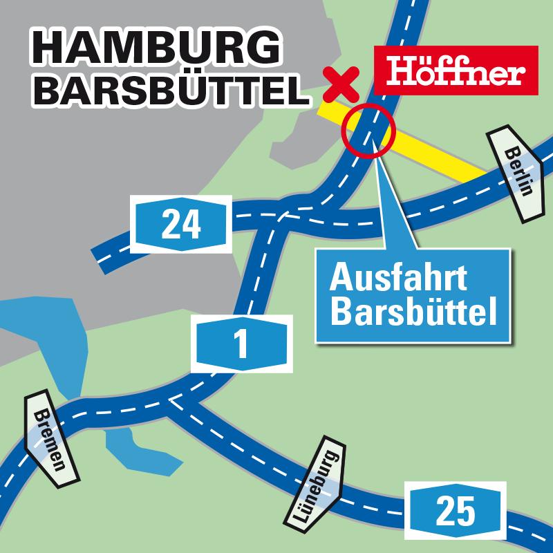 Möbeldiscounter Hamburg möbel höffner standorte in deutschland höffner
