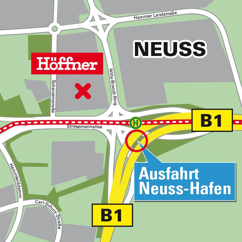 Möbel Höffner In Düsseldorf Neuss Möbel Küchen Mehr