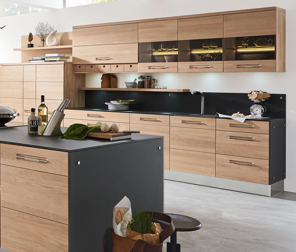 Holzküchen nach Maß - Kostenlose Planung bietet Ihnen Möbel Höffner