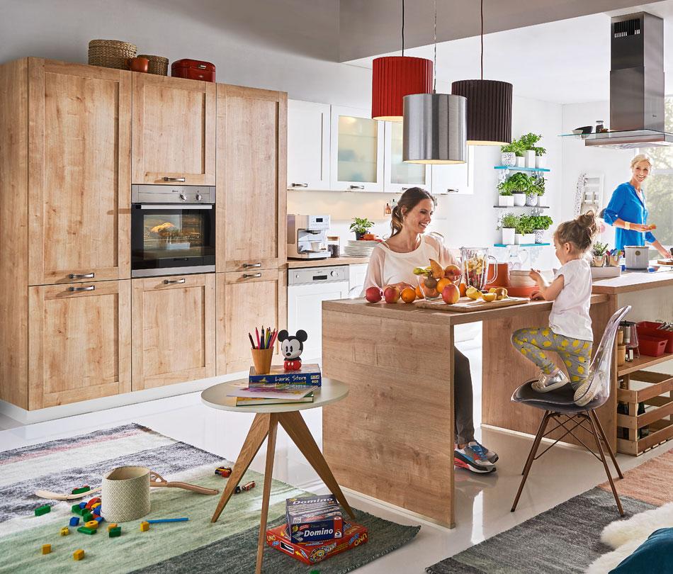 traumk chen von m bel h ffner riesige auswahl und top beratung. Black Bedroom Furniture Sets. Home Design Ideas