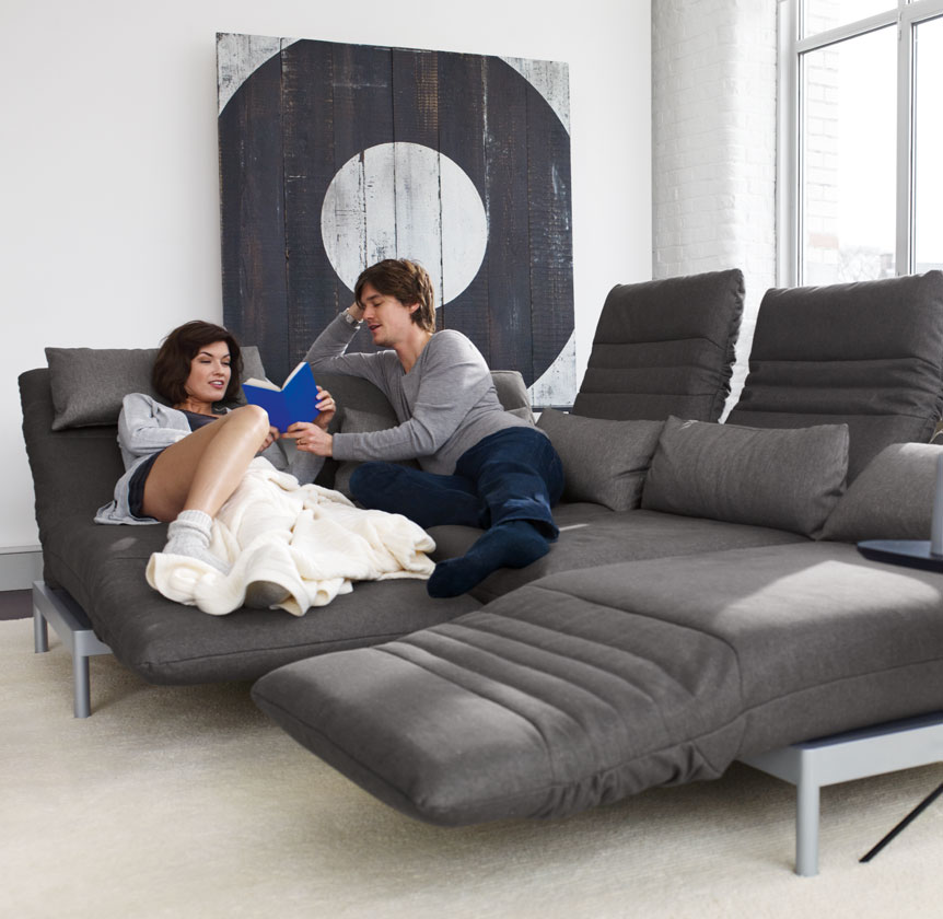 Rolf benz plura funktionalit t trifft design bei m bel for Sofa benz rolf