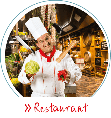 Restaurant-Kochmütze