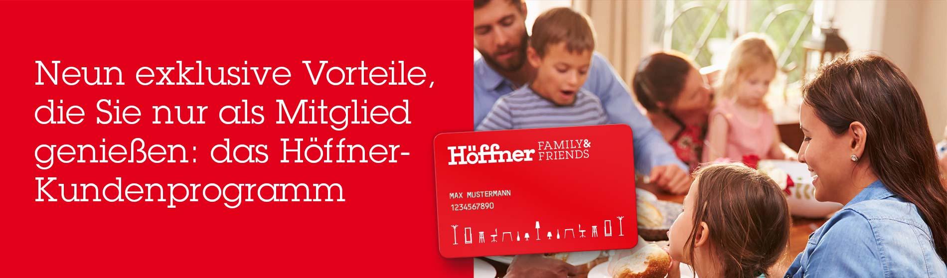 Family Friends Antragsformular Möbel Höffner