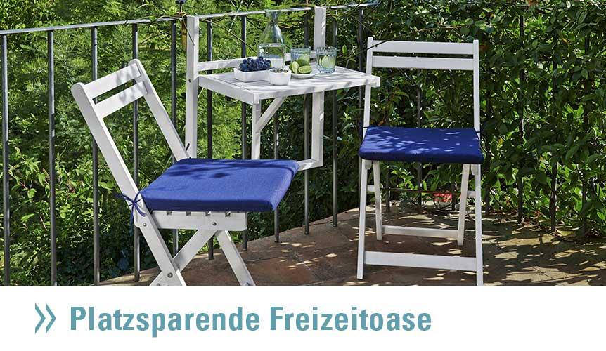bequeme loungem bel f r balkon und terrasse von h ffner. Black Bedroom Furniture Sets. Home Design Ideas