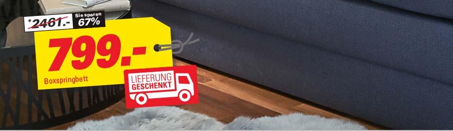 *Hinweise zu unseren Konditionen: Bis zu 500€ geschenkt beim Kauf von Möbeln & 0% Finanzierung