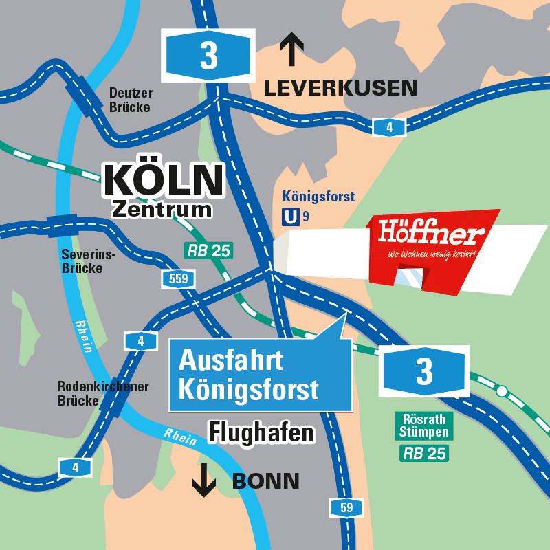 Möbel Höffner in Köln-Rösrath - Möbel, Küchen & mehr