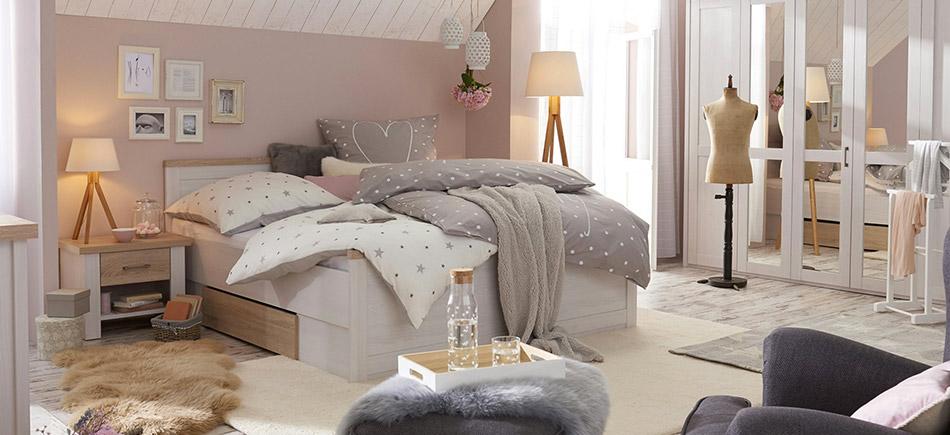 schlafzimmer ideen schlafzimmerm bel bei h ffner. Black Bedroom Furniture Sets. Home Design Ideas