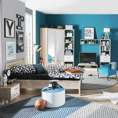 m bel und ideen zur einrichtung f r das jugendzimmer h ffner. Black Bedroom Furniture Sets. Home Design Ideas