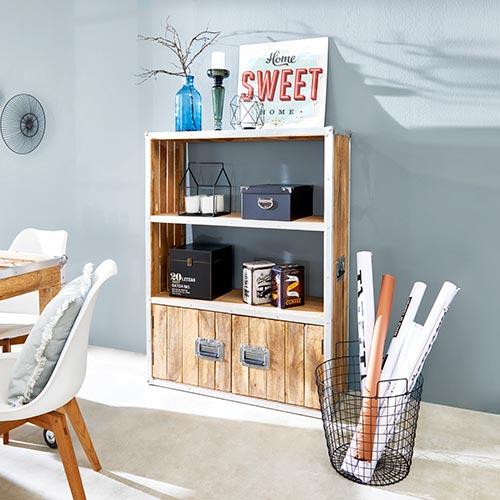 wohnidee industrial living m bel h ffner. Black Bedroom Furniture Sets. Home Design Ideas