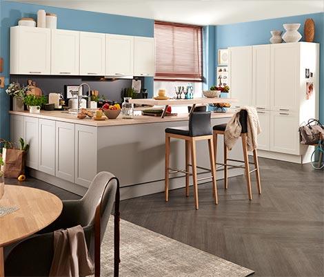 offene wohnk che planen professionelle beratung bei m bel h ffner. Black Bedroom Furniture Sets. Home Design Ideas