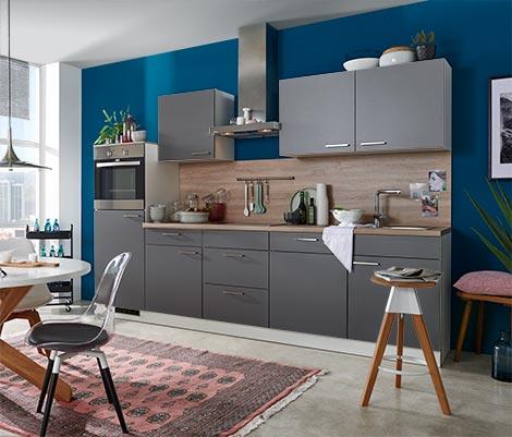 Küchentresen in Holzoptik