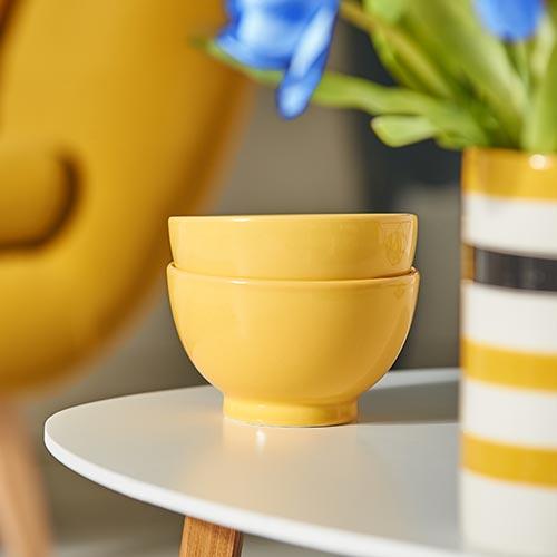 wohnidee trendfarben blau gelb m bel h ffner. Black Bedroom Furniture Sets. Home Design Ideas