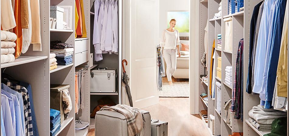Begehbarer Kleiderschrank Bilder wohnidee begehbarer kleiderschrank möbel höffner