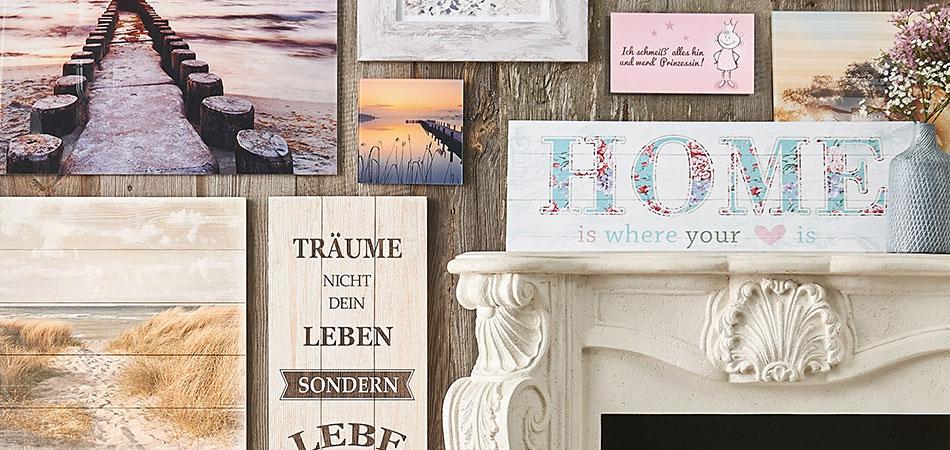dekoartikel für alle räume bei möbel höffner günstig online - Wohnwand Dekorieren