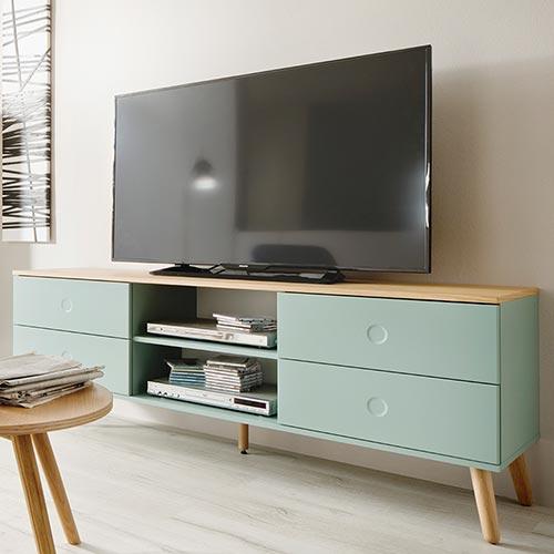 TV-Lowboard Scan Salbeigrün