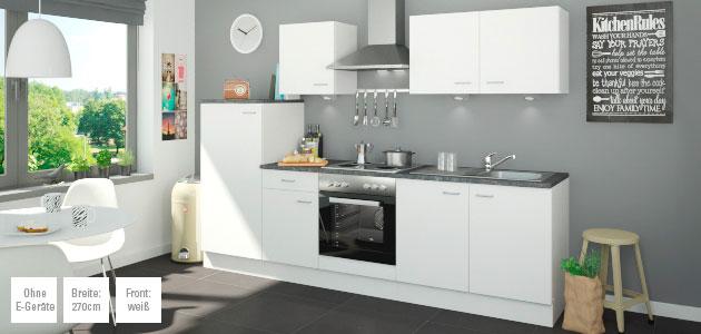 Küchenzeile ohne Elektorgeräte Kiel