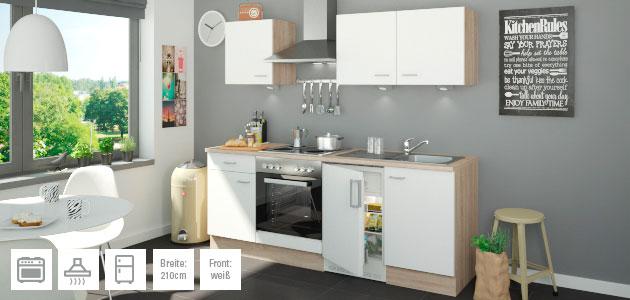 Küchenzeile mit Elektrogeräten Ulm