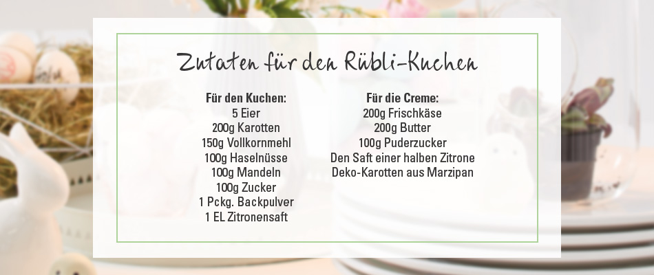 Rübli-Kuchen mit Vanille-Frosting