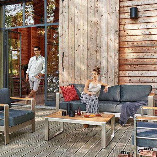 a casa mia Outdoor-Lounge-Sitzgruppe New York