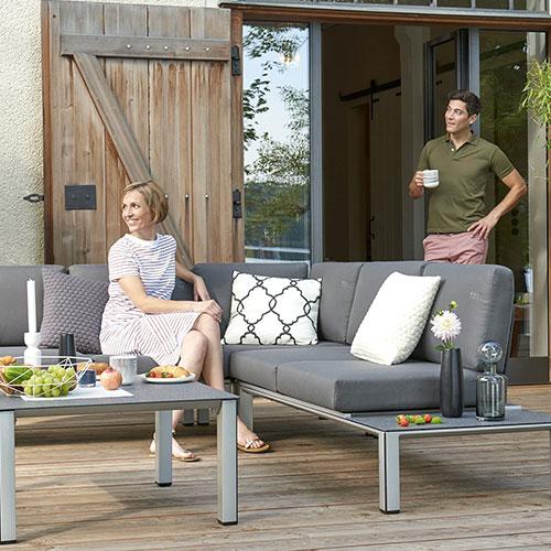 MWH Garten-Lounge-Set Elements