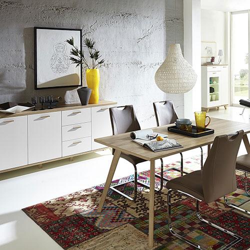 GW-Oslo Tisch und Sideboard