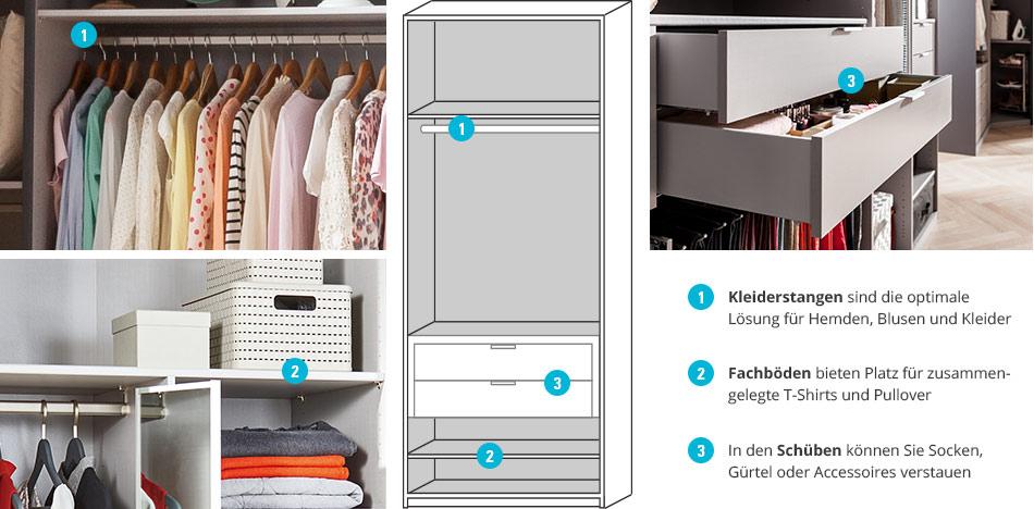 Schwebetürenschrank innenausstattung  Schranksystem Dreamer » Bei Höffner online kaufen