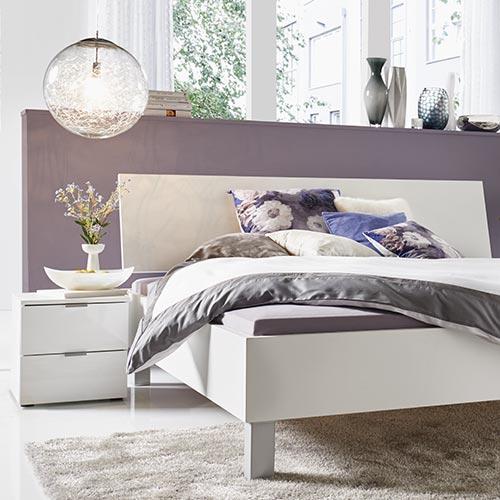 Dreamer Bett in Weiß