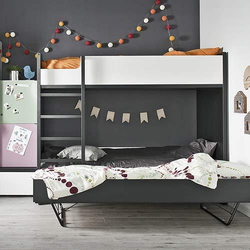 VOX Etagenbett mit Unterbettgestell Young Users