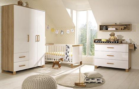 Alle babyzimmer serien bei m bel h ffner im berblick - Babyzimmer benno ...