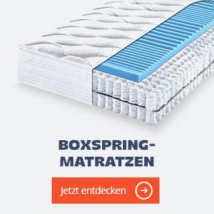 Boxspringmatratzen