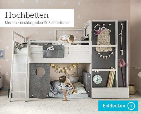 kinderzimmer möbel und ideen zur einrichtung - höffner - Kinderzimmermobel Ideen Hochbetten