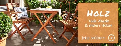 Günstige Gartenmöbel aus Polyrattan, Holz & Co. bei Höffner