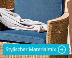 Materialmix Gartenmöbel