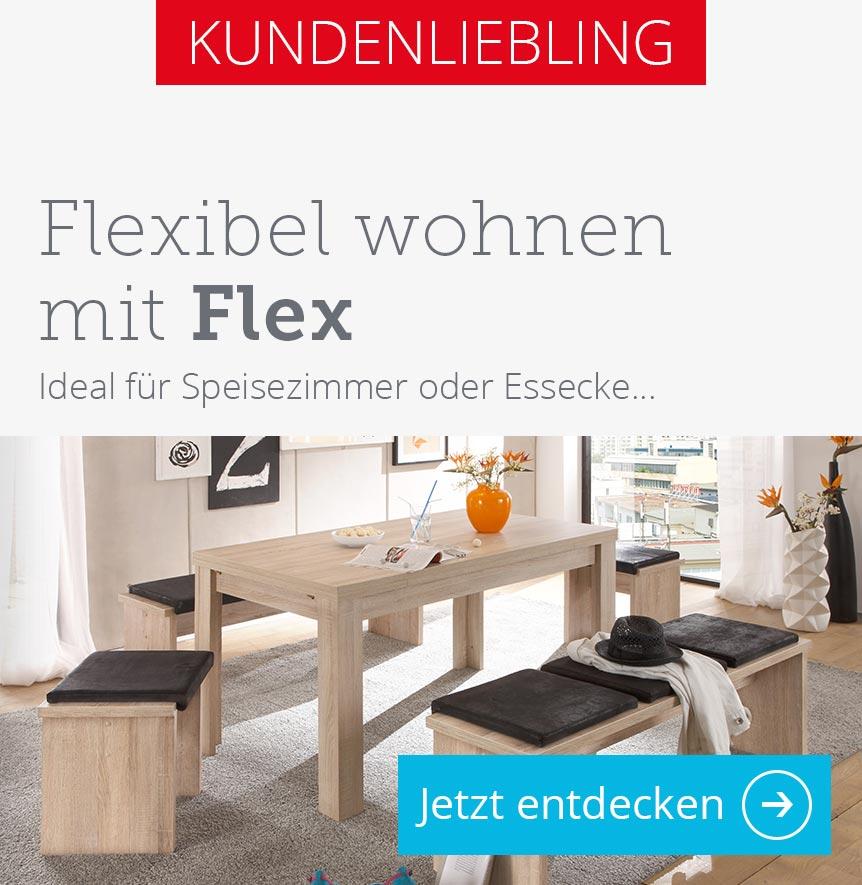 esstische online kaufen bei h ffner ausziehbar massiv. Black Bedroom Furniture Sets. Home Design Ideas