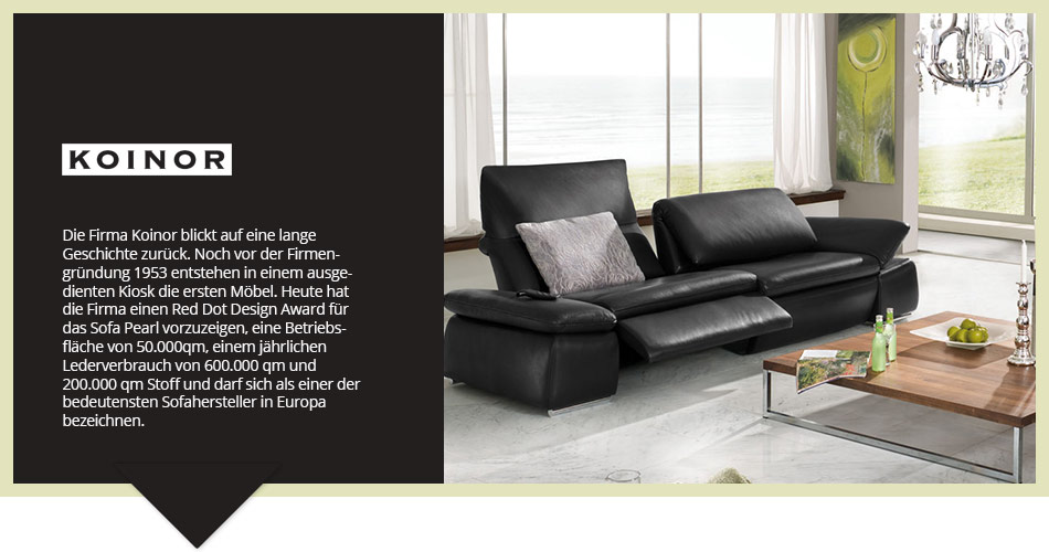 koinor m bel h ffner. Black Bedroom Furniture Sets. Home Design Ideas
