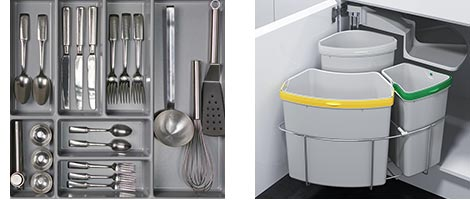 Ausstattung von CUBO15 Küchen