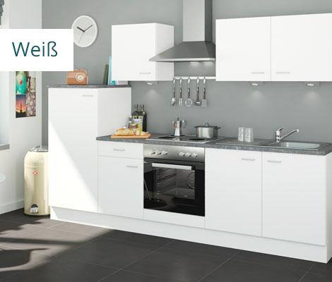 weiße Küchen