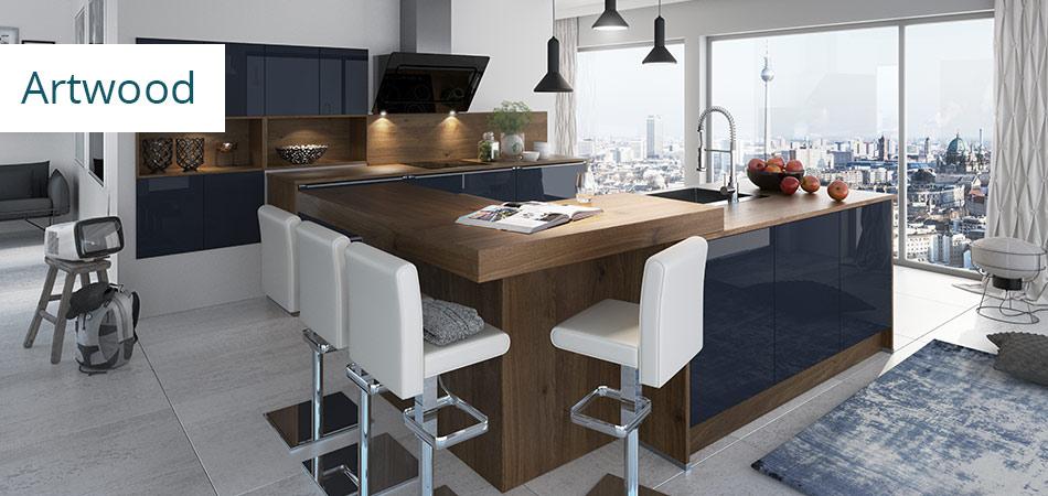 Artego serie artwood mobel hoffner for Wohnwert küchen