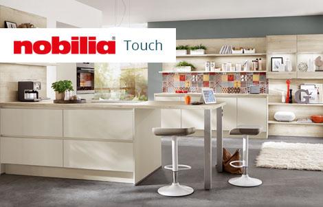 Minimalistisch: Grifflose Küchen | Möbel Höffner