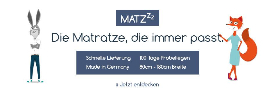 Matzzz Kaltschaummatratze