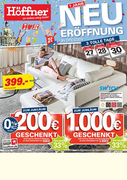 Möbel Höffner in Dresden am Elbepark - Möbel, Küchen & mehr