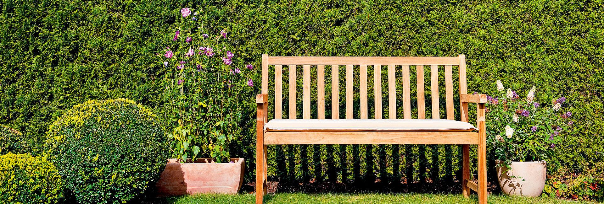 Gartenbanke Mit Ohne Lehne Finden Sie Bei Hoffner Online