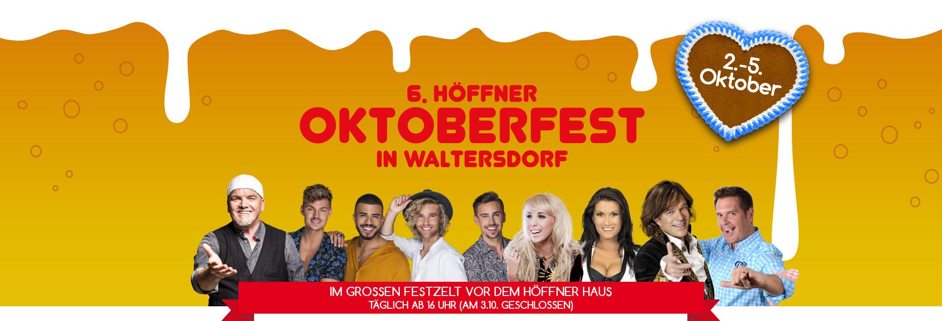 Oktoberfest Waltersdorf | Möbel Höffner