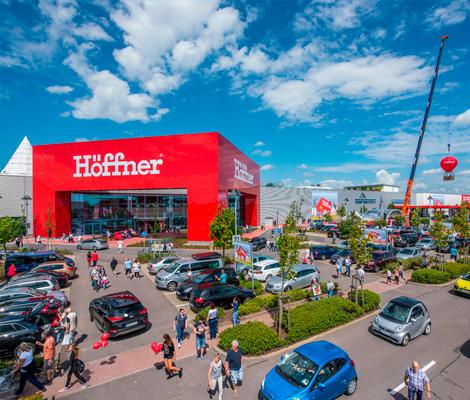 Möbel Höffner in Magdeburg am Pfahlberg - Möbel, Küchen & mehr