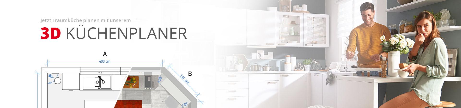 20D Küchenplanung mit Höffner  Möbel Höffner